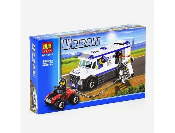 Конструктор Bela Urban Автомобиль для перевозки заключенных 10418