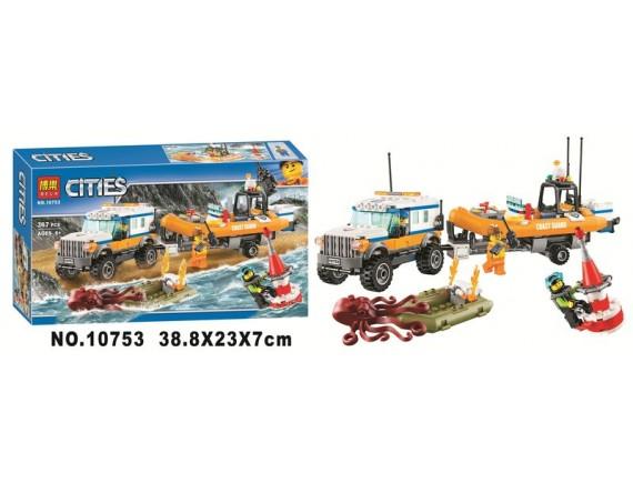 Конструктор BELA Cities Внедорожник 10753 - приобрести в Игра - оптовый склад детских игрушек