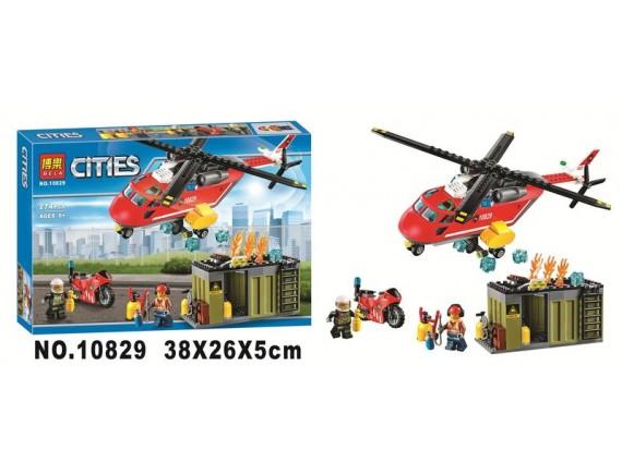 Конструктор BELA Cities Пожарная команда 10829