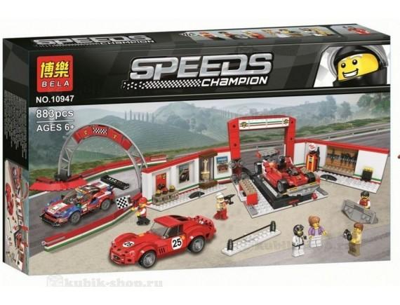 Конструктор BELA Speeds Гараж Ferrari 10947
