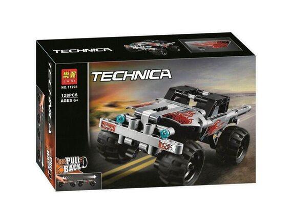 Конструктор серия TECHNICA инерционная машинка 128 дет 11295