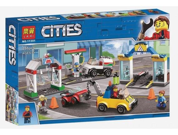 Конструктор LARI Cities Автостоянка 11391