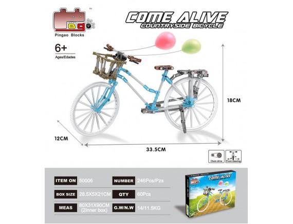 Конструктор Come Alive велосипед 50006