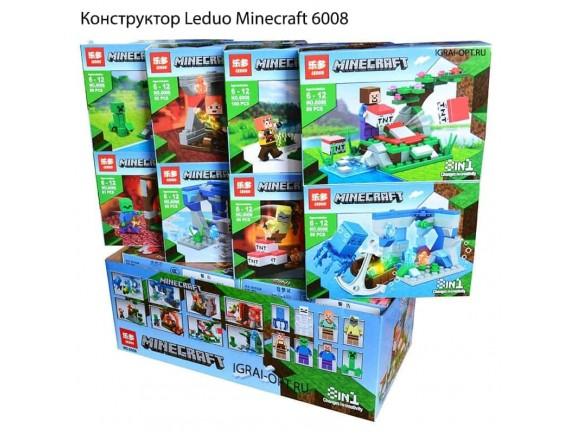 Конструктор Leduo 8in1 из 755 дет. Minecraft 6008