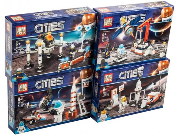 Конструктор PRCK Cities в космосе 65011