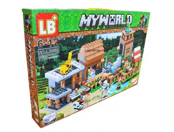 """Конструктор LB My World """"Деревня"""" LB600"""