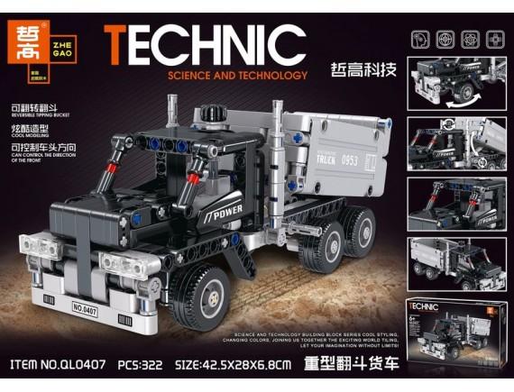 Конструктор ZHE GAO Technic Power Truck ql0407