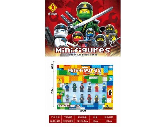 Конструктор набор минифигурок SLtoys Ninjago sl89182C