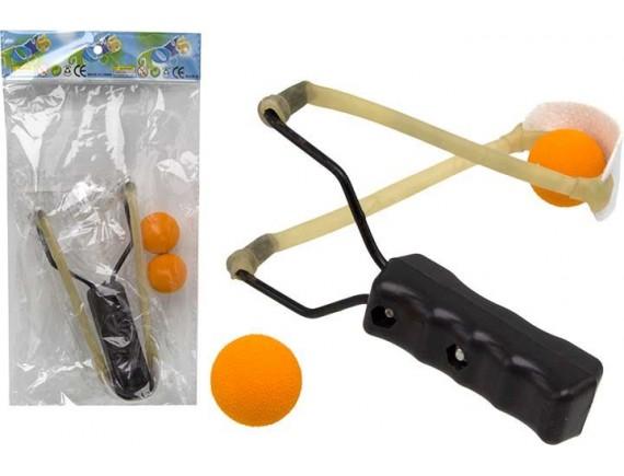 Детская рогатка с мягкими мячиками 100989152 - приобрести в Игра - оптовый склад детских игрушек