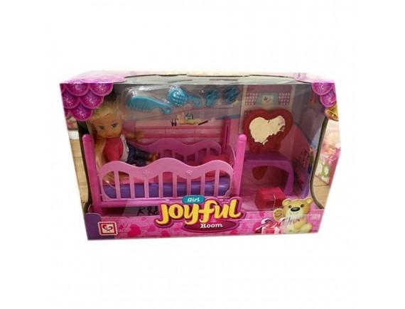 Кукольная комната для девочки Joyful Girl Room 1124674
