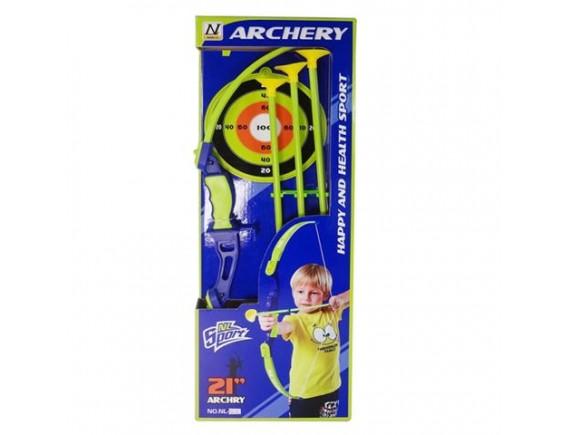 Лук Меткий Стрелок со стрелами - присосками 200056525