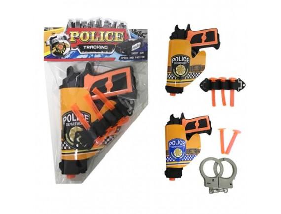 Игрушка Пистолет с пулями на присосках 200102769