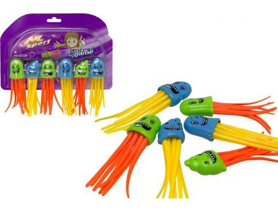 Игрушки для купания 6 шт в наборе 200201171