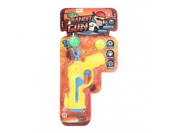Игрушечный пистолет Bandit Gun с шариками 200418850 - приобрести в Игра - оптовый склад детских игрушек