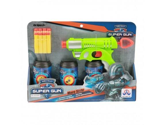 Игрушка Пистолет с мягкими пулями и мишенью 200515561 - приобрести в Игра - оптовый склад детских игрушек