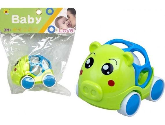 Игрушка-погремушка на колесиках в пакете 200575700 - приобрести в Игра - оптовый склад детских игрушек