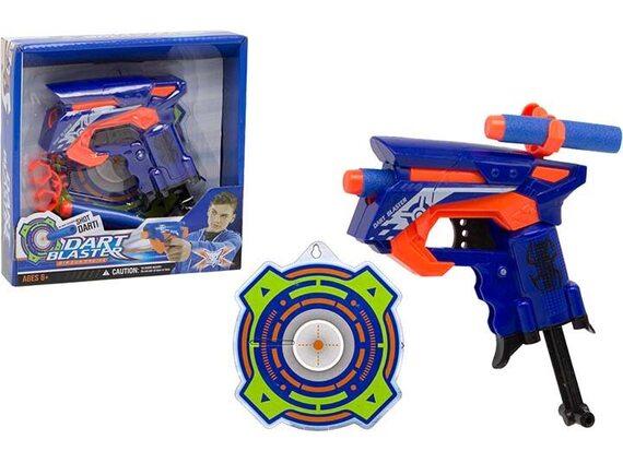 Игрушка Пистолет с мягкими пулями 13см 200619531