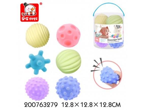 Шарики Bambini набор из 6штук 200763279 - приобрести в Игра - оптовый склад детских игрушек