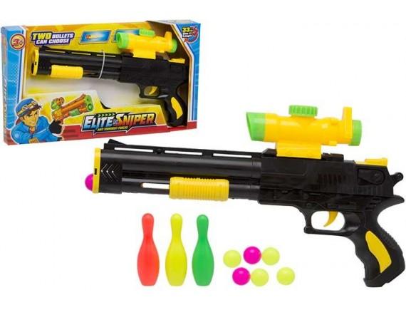 Пистолет в наборе с мишенью и шарами 200857996