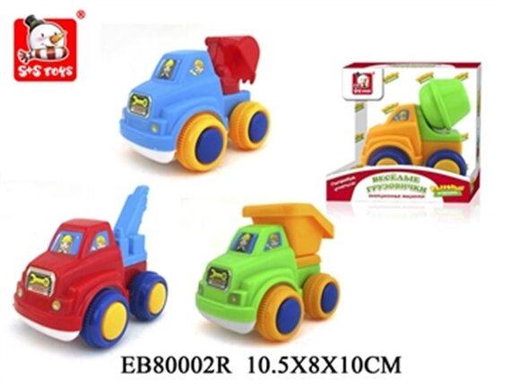 Машинки спецтехника для малышей EB80002R