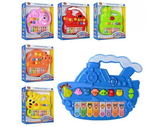 """Развивающая игрушка Play Smart """"Пианино знаний"""" LT7252A/B/C/D/E/F"""