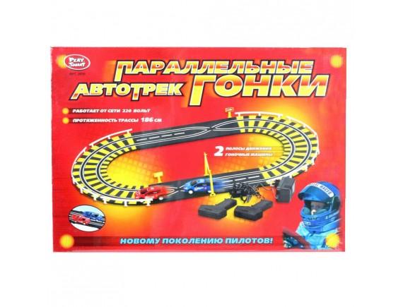 """Игровой набор автотрек Play Smart """"Параллельные гонки"""" LT0807"""
